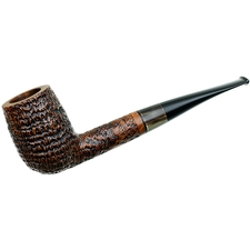 Ser Jacopo Sandblasted Billiard with Horn Ferrule (S1)