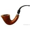 Italian Estates Luigi Viprati Smooth Bent Calabash with Horn (G) (4 Clover)