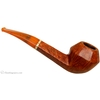 Italian Estates Savinelli Autograph Smooth Bent Bulldog with 18 KT Gold Band (Replacement Stem)