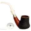 Italian Estates Luigi Viprati Paritally Rusticated Freehand Sitter with Silver Spigot and Cap (090/330) (J0)