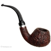 Italian Estates Ser Jacopo Rusticated Bent Brandy with Silver Band (R1)
