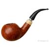Italian Estates Luigi Viprati La Pipa Smooth Bent Apple with Horn Ferrule (5 Clover) (Shank Repair)