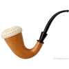 Turkish Estates Mahogany Calabash with Meerschaum Cap (with Case) (Unsmoked)
