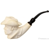 Turkish Estates Akdolu Meerschaum George Kennedy as Cowboy (with Case) (Unsmoked)