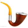Misc. Estates GTC Own Make Gourd Calabash with Meerschaum Bowl Silver Cap and Band and Bakelite Stem (c. very early 1900s)
