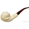 Turkish Estates Tusa Koll Meerschaum Horse and Serpent (with Case) (Unsmoked)