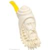 Turkish Estates Unknown Meerschaum Bearded Man with Rakish Cap (Unsmoked)