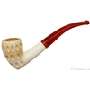 Unknown Meerschaum Lattice Bent Acorn (with Case)