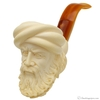 Turkish Estates I. Baglan Meerschaum Man and Eagle (with Case) (Unsmoked)