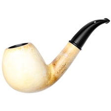 American Estates Michael Butera Meerschaum Smooth Bent Brandy (Collaboration with I. Bekler)
