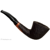 American Estates Randy Wiley Galleon Rusticated Bent Dublin (33) (Unsmoked)