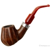 American Estates J. M. Boswell Smooth Carved Bent Brandy Sitter with Silver (2011) (Unsmoked)