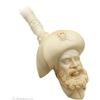 Turkish Estates Marem Meerschaum Laughing Pirate (with Case)