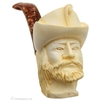 Turkish Estates CAO Meerschaum Bearded Man with Hat (with Case)
