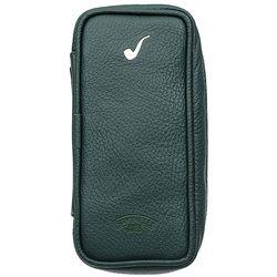 Pipe Accessories Savinelli Nappa 3 Pipe Case - Green